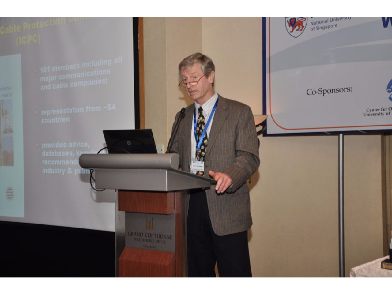 Workshop on Submarine Cables and the Law of the Sea - Centre for