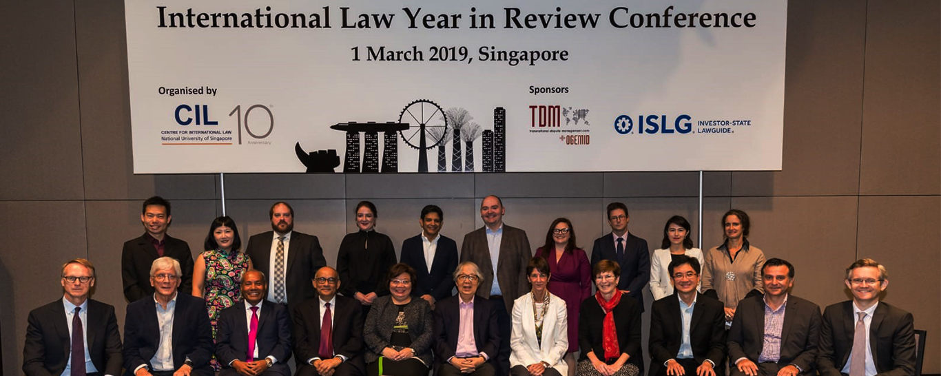 Successful Run of International Law Year in Review