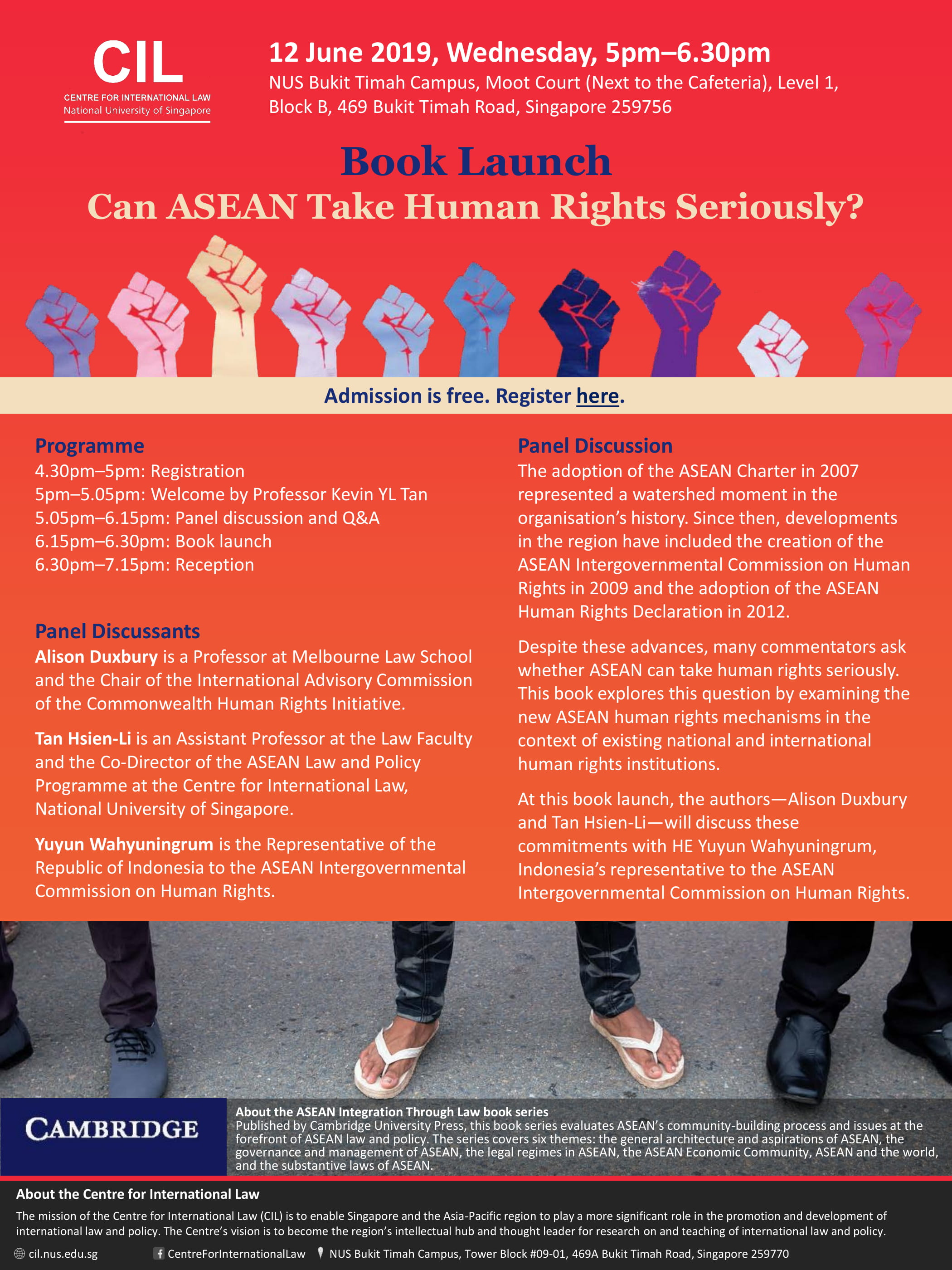 Book Launch: Can ASEAN Take Human Rights Seriously? - Centre